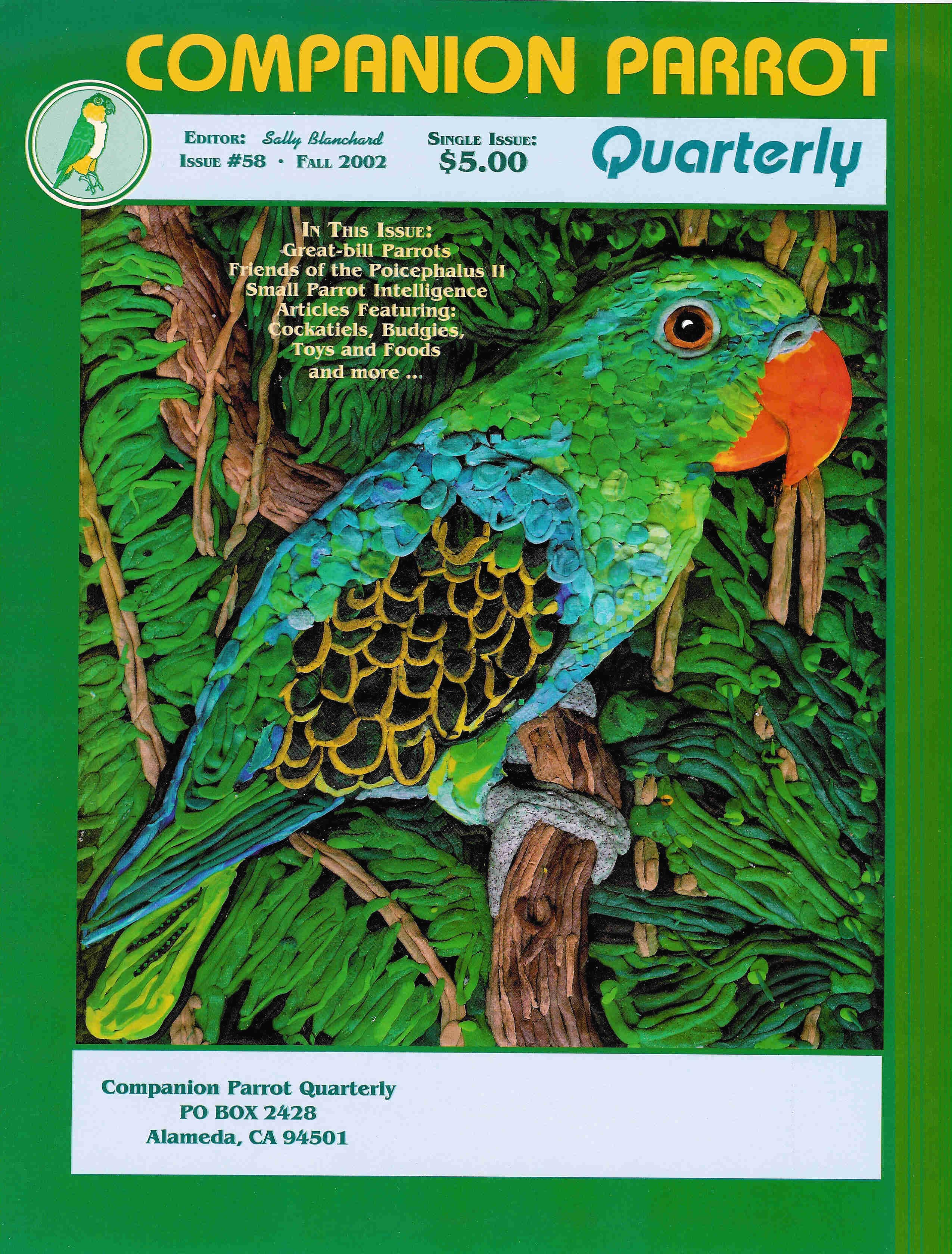 Companion Parrot Quarterly #58