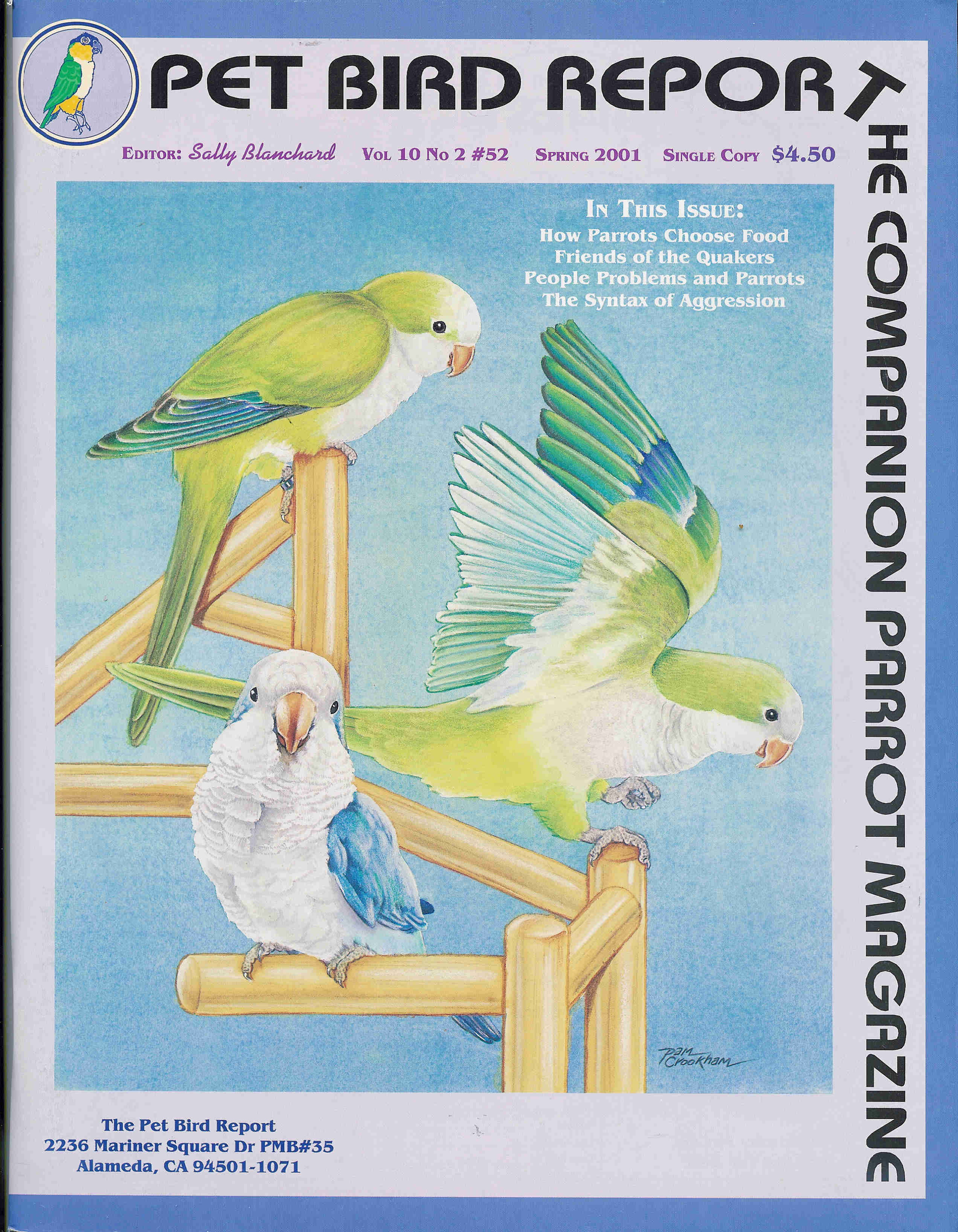 Companion Parrot Quarterly #52