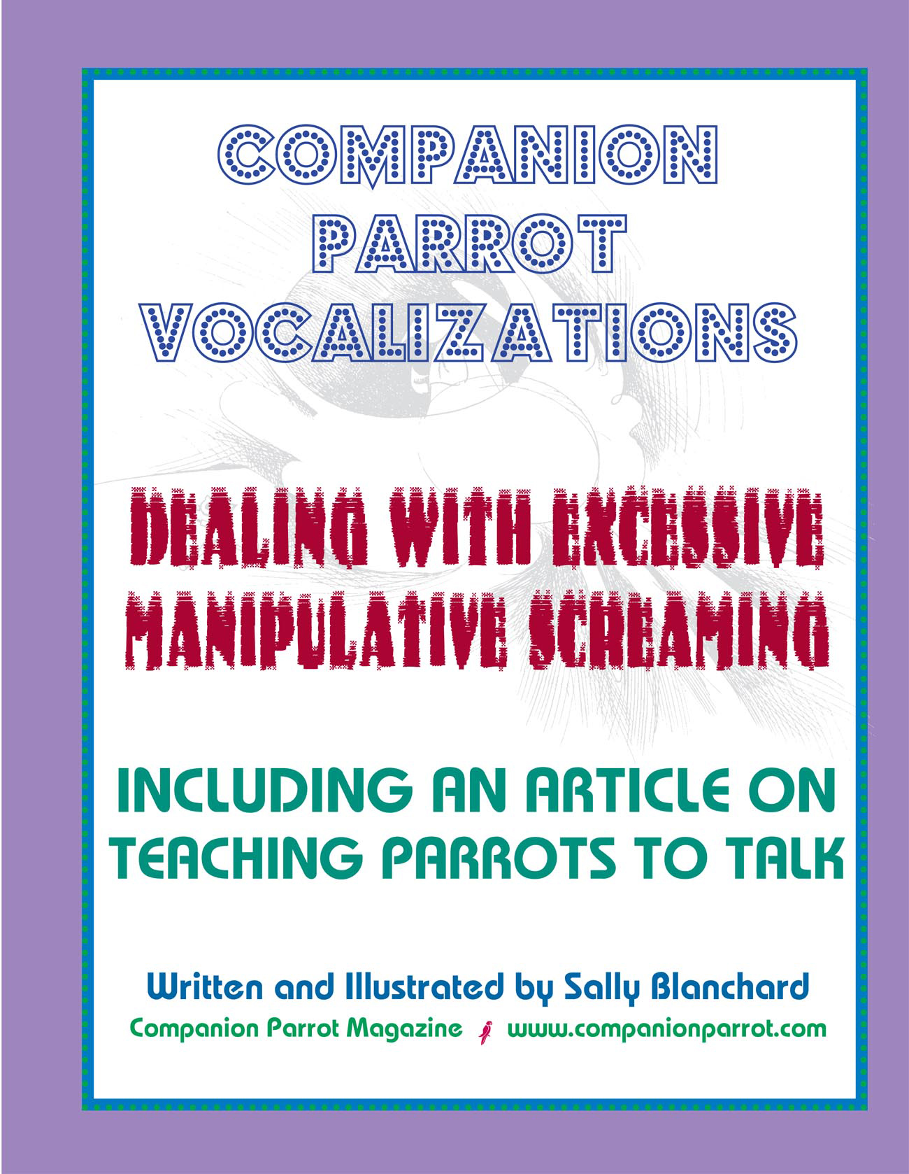 Vocalization and Talking